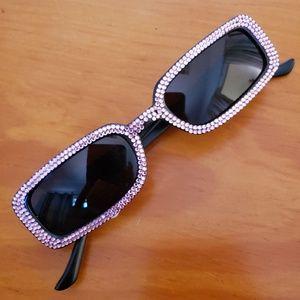 NWT Jkmmy Crystal Sunglasses